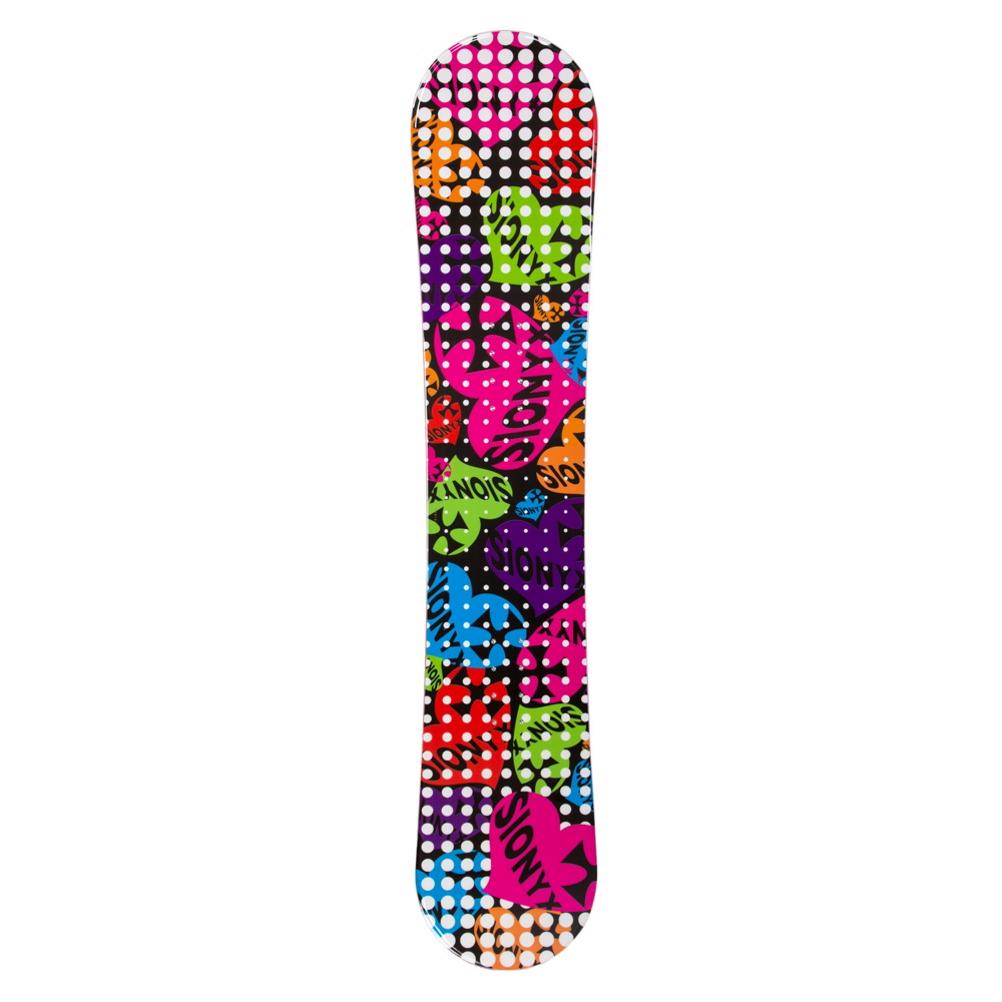 Sionyx Hearts Black S Girls Snowboard