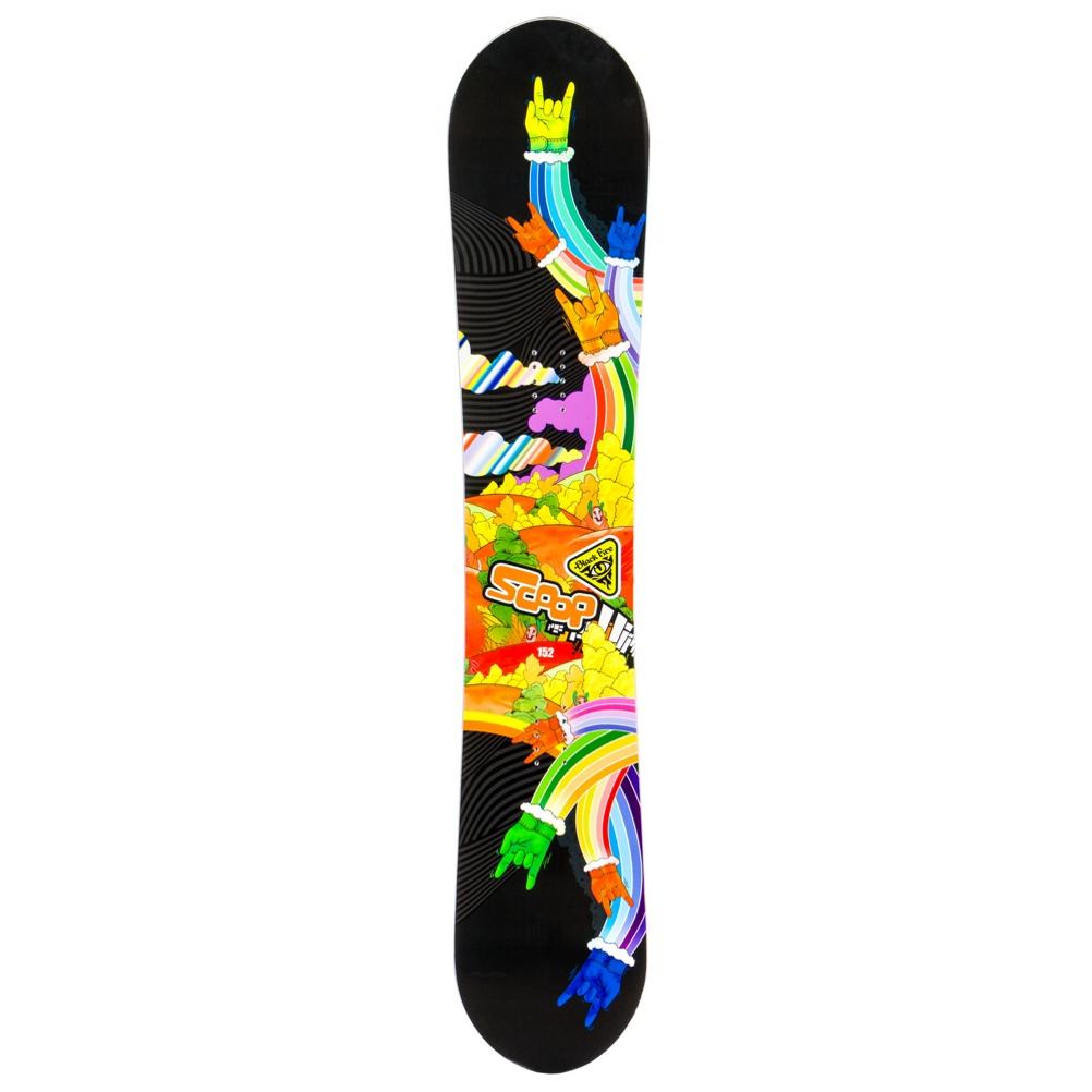 Black Fire Scoop Hands Snowboard 158663999