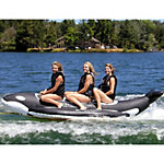 Island Hopper Whale Ride Banana Boat 3 Passenger Towable Tube 2016
