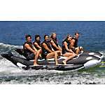 Island Hopper Whale Ride Commercial Banana Boat 6 Passenger Side-By-Side Towable Tube 2016