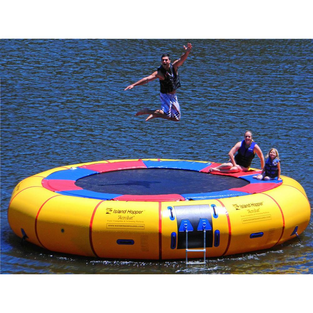 Island Hopper Acrobat 20 Foot Water Trampoline