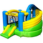 Island Hopper Jump-A-Lot Double Slide Bounce House