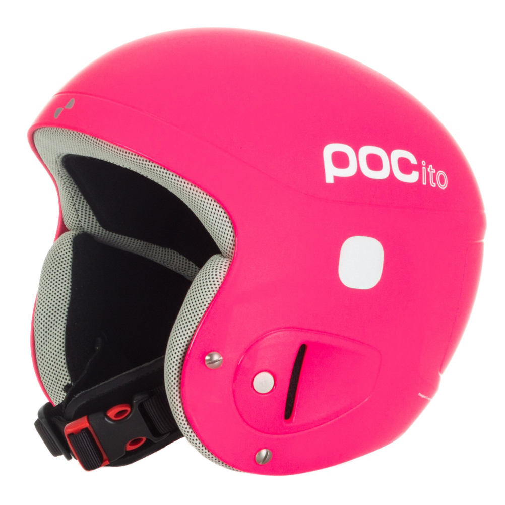 poc pocito skull kids helmet 2017- Save 30% Off - Your children will be given the same protection as you with the POCito ski helmet. This POC helmet is created with similar features, but for a smaller head. The POCito has a softer lining that provides better shock absorption at lower speeds and force. As parents, you know you kids grow rather quickly. Don't worry about getting your little skiers a new helmet months after one is purchased. With the POCito helmet, there is special adjustable sizing that allows your child to grow with it. With a helmet comes safety and protection, but this particular one ups the competition. Included at the back of the goggle clip is a panel where contact information as well as emergency medical information can be noted. But it gets even better. There is a Recco avalanche rescue reflector located inner the shell. This gives off maximum visibility in both daylight and night light to send off signals in the event of an emergency. The POCito ski helmet for kids is created with modern styling and colors that pop. Both you and your children will appreciate the greatness built with this POC helmet.  Blinking LED Device Included,  Name tag for writing down important contact information Included,  Bib florescent orange reflectors to be worn over the jacket to increased visibility Included,  GTIN: 7332522089519, Model Number: 10210 85, Product ID: 195419, Model Year: 2017, Shell Construction: Hybrid, Year Round Capable: No, Adjustability: Full, Ventilation: Fixed, Brim/Visor: No, Audio: Not Compatible, Category: Race, Race: Yes, Gender: Kids, Warranty: One Year, Certifications: EN 1077 - Class A
