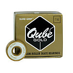 Sure Grip International QUBE Gold Swiss Skate Bearings
