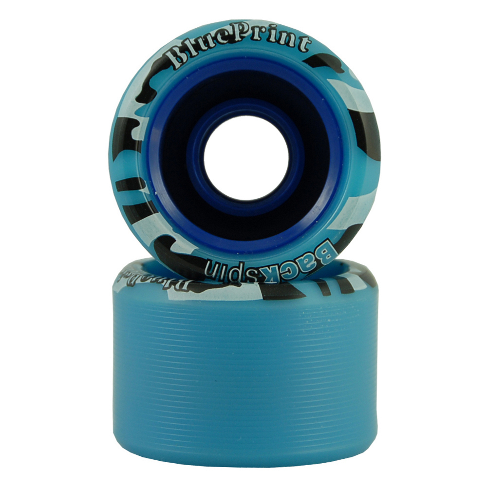 Backspin Blueprint Roller Skate Wheels 8 Pack