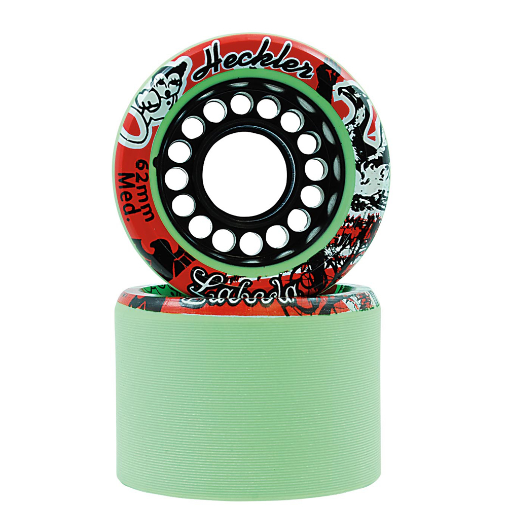 Labeda Heckler Roller Skate Wheels 8 Pack