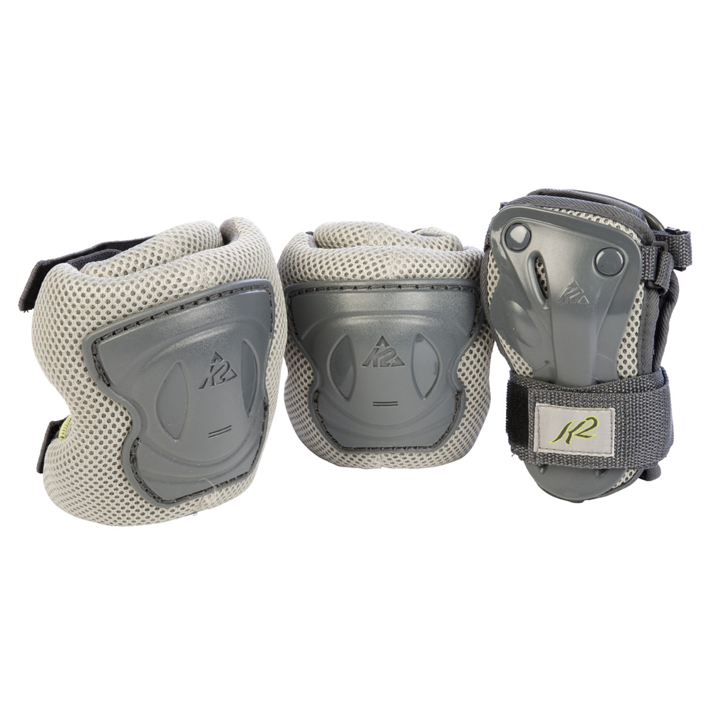 k2 alexis three pad pack 2018- Save 27% Off - Safety is a big factor when inline skating so get covered with the K2 Alexis Three Pad Pack. The Alexis Pad Set is comfortable, featuring a breathable mesh fabric with a CoolMax lining. Ride with confidence at nighttime with help from the Alexis' reflective tabs. Hard cased protective support keeps elbows, knees and wrists armed against scrapes with the thick padding absorbing impact. Ladies will love the T:Nine styling and can be matched with many of K2's women's inline skates. Don't skate another day unprotected, get the K2 Alexis Three Pad Pack and get going!  Breathable mesh,  CoolMax lining,  Elastic straps for the perfect fit,  Includes two knee pads, two elbow pads and two wrist guards,  Model Year: 2018, Product ID: 212049, Shipping Restriction: This item is not available for shipment outside of the United States., Model Number: I11803152, GTIN: 0714636749508