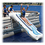Rave Pontoon Slide Water Trampoline Attachment