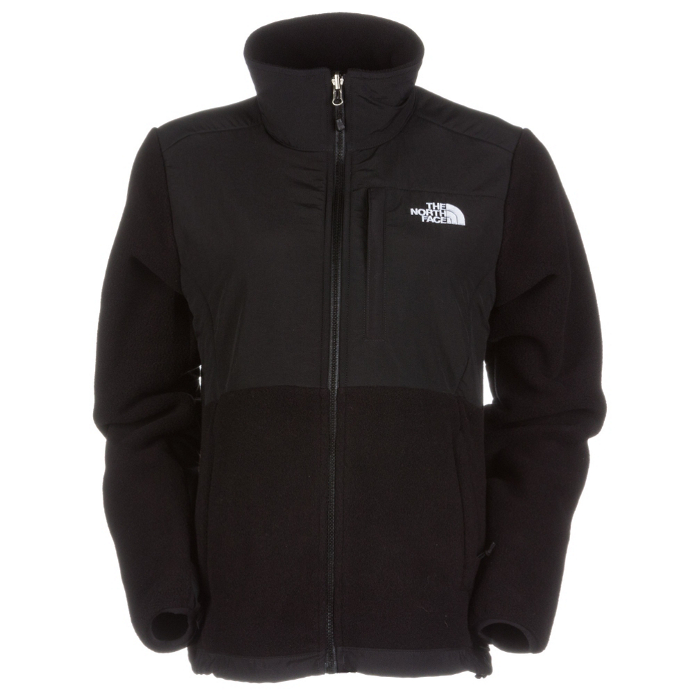 the north face denali fleece womens jacket- Save 44% Off - The North Face Denali Womens Jacket  is a comfortable fleece jacket for cold climates.   Snuggle up in the coziness of the soft Polartec Fleece which naturally wicks moisture away from your skin keeping you warm, dry and comfortable all day long.  For added protection against the elements, this jacket has been treated with a durable water repellent (DWR) so it fends off light rain and snow.  If you're camping or hiking with a backpack you'll love the reinforced nylon shoulders, chest and forearms that reduce abrasion and pressure points.  The relaxed fit of this jacket makes it easy to add layers underneath when the temperatures turn frigid while the drawcord hem seals out drafts.  With chest pockets, zip handwarmer pockets and a media pocket, you'll have room to bring along a few accessories including a trail map or your phone.  Whether you're checking out the trails in the backcountry or dashing across campus on a chilly day, the Denali Jacket from The North Face will keep you warm, cozy and dry.  Polartec Fleece with DWR,  Abrasion-reinforced Shoulders and Chest,  Napoleon Chest Pocket, Secure Zip Hand Pockets, Media Pocket,  Two Hand Pockets,  Elastic bound cuffs and drawcord at hem,  Warmth Factor: Slightly Warm, How Does This Fit?: True To Size, Recommended Use: Casual, Sun Protection: Water Resistant, Antimicrobial: No, Anti Odor: No, Insect Repellent: No, Quick Drying: Yes, Moisture Wicking: Yes, Windproof: No, Anti Wrinkle: No, Water Resistant: Yes, Pockets: 3-4, Wind Protection: No, Closure Type: Full Zip Top, Waterproof Zippers: No, Breathability: Not Specified, Waterproof: Water Resistant (< 5,000mm), Insulation Type: Fleece, Length: Short, Jacket Fit: Regular, Type: Fleece, Race: No, Battery Heated: No, Warranty: Lifetime, Hood: No, Category: Heavy-Weight, Fleece Weight: Heavy, Material: Polartec Fleece, Hood Type: None, Breathability Rating: N/A, Waterproof Rating: , Taped Seams: None, Insulation Weight: 300g, Exterior Material: Polartec 300 Series Fleece, Model Year: 2016, Product ID: 230731, Shipping Restriction: This item is not available for shipment outside of the United States., Model Number: NF00ANLPLE4-S, GTIN: 0027906712493