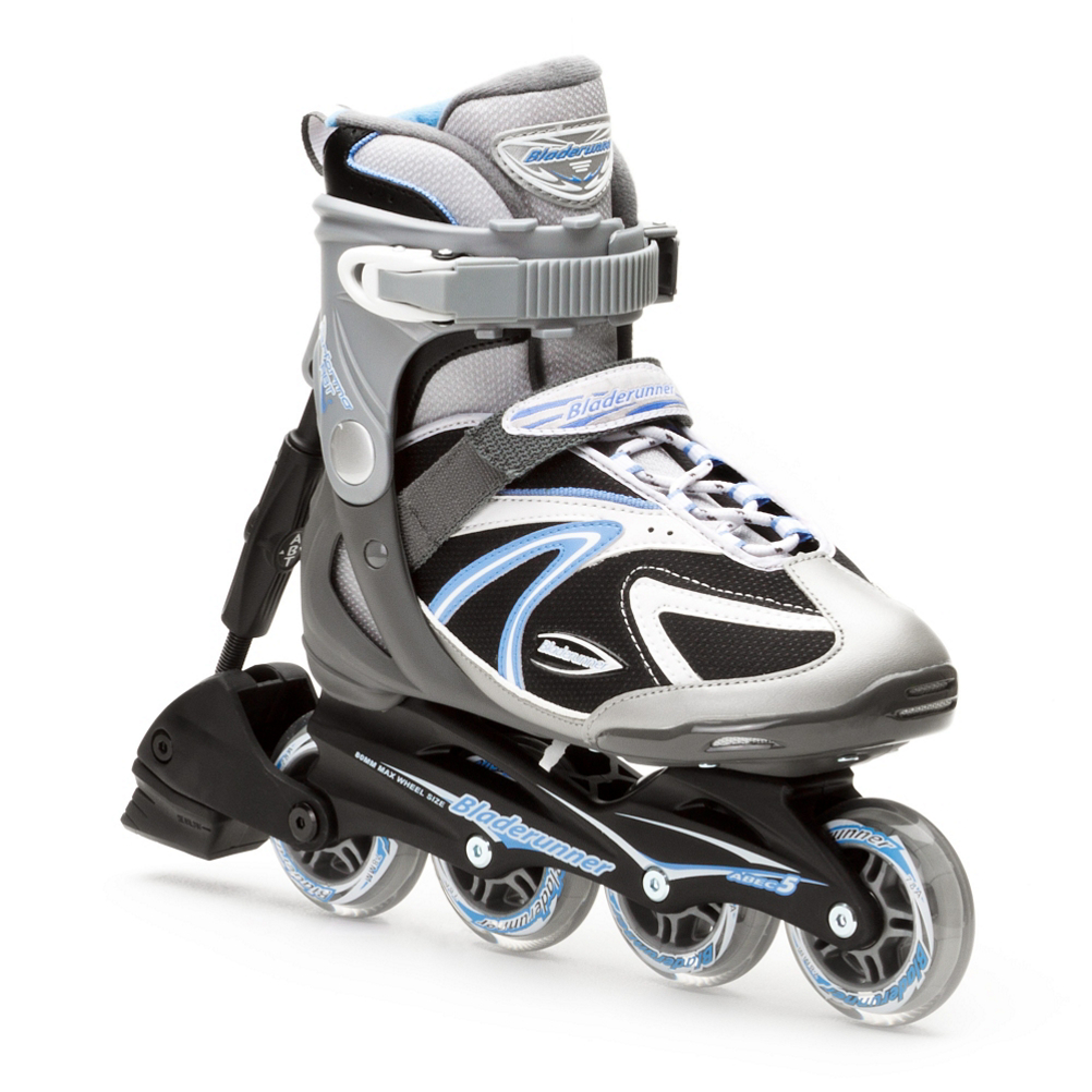 Bladerunner Performa ABT Womens Inline Skates 2016: Save 36% Off - The Bladerunner Performa ABT inline skates are a great quality skate with loads of features geared towards the beginner to intermediate skater. The Performa ABT has a stylish look and is fast and comfortable. Bladerunner products are built with everything that counts for comfort, performance and durability backed by the trusted Rollerblade name. Featuring a comfortable and soft boot with buckle, powerstrap and lace closure to provide you with a secure and comfortable fit. The composite frame and ABEC 5 bearings will provide you with a nice smooth roll. A micro-adjustable ABT braking system allows you to get improved, gradual stopping power. Performance, exercise, and fun on a budget. Where's the quality you ask? Well, that part is a given with the Rollerblade name.  Skate Type: Recreation, Bearing Grade: Recreational, Skill Range: Beginner - Advanced Intermediate, Model Year: 2016, Product ID: 257367, Model Number: 0T207200 835 5, GTIN: 0885315085429, Ventilation: Low, Speed: Leisurely, Brake Included: Yes, Skate Cuff Height: High, Skate Closure System: Traditional Laces, Skate Frame Material: Performance Composite, Size Adjustable: No, Wheel Size: 70-79mm, Closure System: Buckle, powerstrap and laces, Maximum Wheel Size: 80mm, Frame Material: Composite, Bearing Type: ABEC 5, Wheel Durometer: 78A, Wheel Configuration: 78mm - 78mm - 78mm - 78mm, Lining Material: Padded