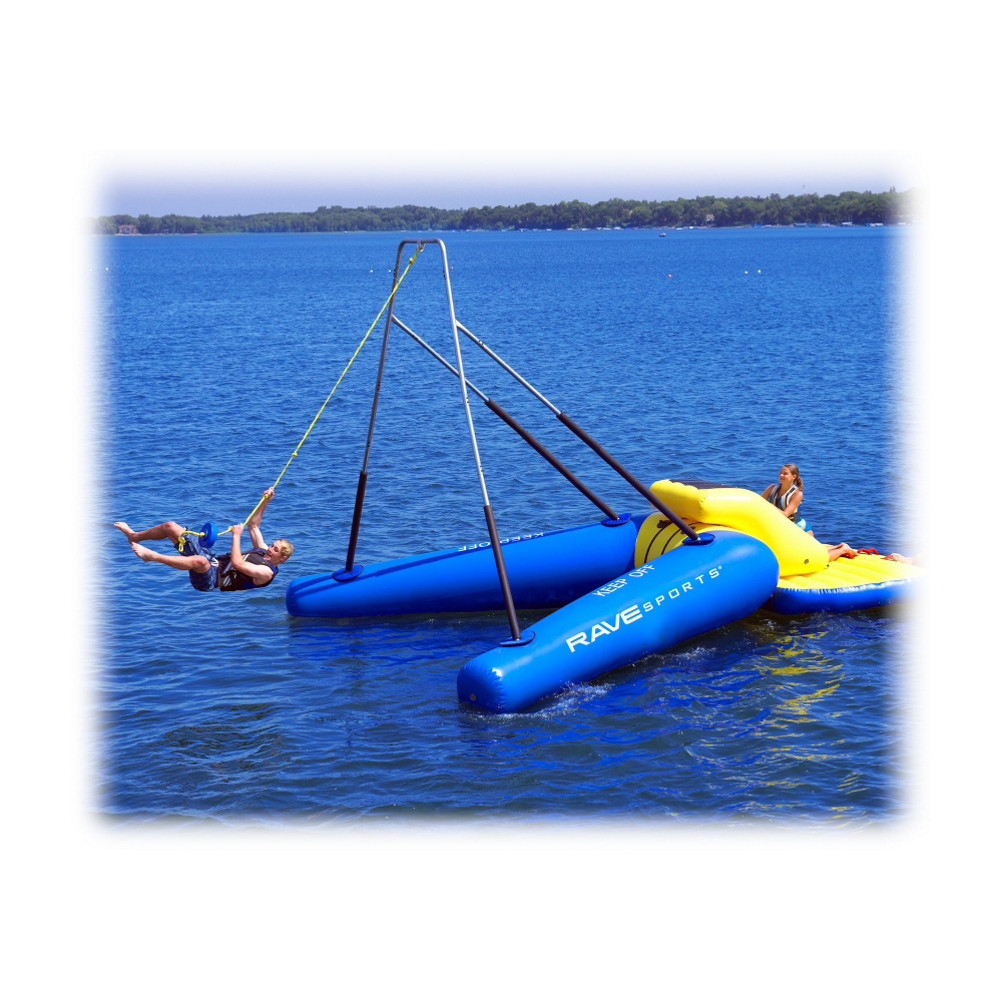 Rave Rope Swing Water Trampoline Attachment