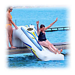 Rave Dock Slide Water Trampoline Attachment