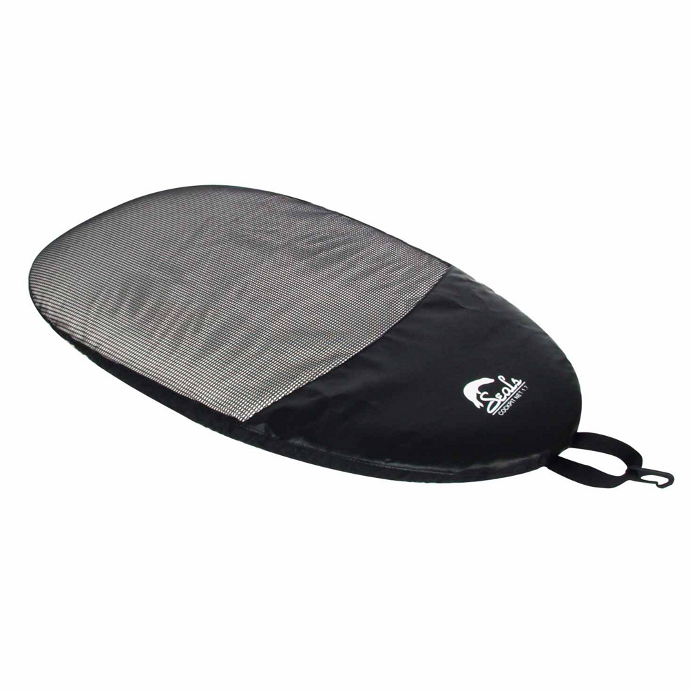seals net kayak cockpit cover- Save 33% Off - The Seals Cockpit Net Cover has a rugged weather resistant mesh panel for maximum ventilation. The rim grip technology, tether hook, and Double-stitched seams, offering you quality and easy to use equipment.  Rugged mesh panel for maximum ventilation,  Tether hook,  Rim grip technology,  Adjustable bungee cord rim attachment,  Double-stitched seams,  Model Year: 2014, Product ID: 267289, Model Number: A-CN1.2B KS S, GTIN: 0872244006311