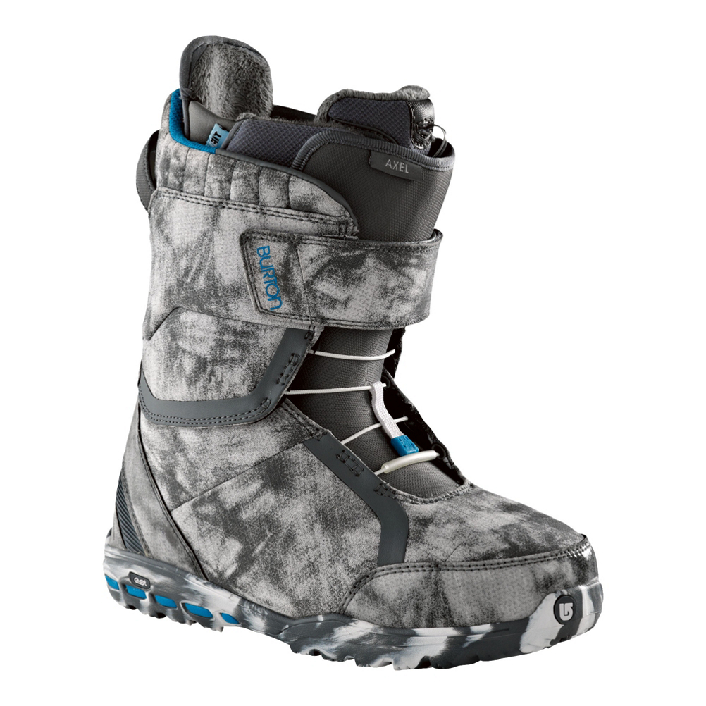 burton axel womens snowboard boots- Save 72% Off - You might not be able to ride like Gabi Viteri, but that doesn't mean you can't rock her boots. The Burton Axel is Gabi's weapon of choice and she destroys everything from street rails to backcountry lines. With a womens specific True Fit design, the Axel is built to fit the ladies better than any mens boot can. Sweet Spot Speed Zone lacing allows you to lock those ankles in the way you want. Upper Velcro strap provides a customizable fit in the cuff of your boot.  The Axel's Imprint 3 Liner is loaded with features like the Rad Pad that reduces the lace bite. It is also pre-wired for Therm-IC Heat. DynoLite EST optimized outsole maximizes board feel without sacrificing dampening. Articulating cuff allows the Axel's upper zone to flex independently leaving you room for your tweaking shenanigans. Total Comfort Construction makes the Axel shred-ready and comfortable right out of the box. No more breaking-in period! Aegis antimicrobial coating fights the funk, not that you need that or anything. It's all roses and lilies. Grab the Burton Axel and make Gabi proud.  Womens Specific True Fit Design,  Therm-IC Heat Pre-Wired Imprint 3 Liner,  DynoLite EST Optimized Outsole with B3 Gel,  Flex Spine Backstay,  Total Comfort Construction,  GTIN: 0886057793092, Model Number: 275279-0747.0, Skill Level: Advanced Intermediate, Gender: Womens, Shipping Restriction: This item is not available for shipment outside of the United States., Product ID: 272090, Model Year: 2013, Skill Range: Advanced Intermediate - Expert, Snowboard Boot Fit: Comfort, Brand Lacing Style: Sweet Spot Speed Zone, Intuition Liner: No, Warranty: One Year, Flex: Medium, Removable Liner: Yes, Snowboard Best Use: All-Mountain Freestyle, Lacing Style: Quick Lace, Material: Therm-IC Heat Pre-Wired Imprint 3 Liner