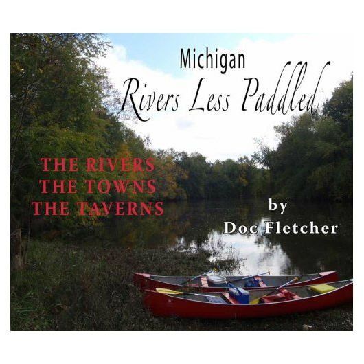For a guide to Michigan rivers the Partners Books Michigan Rivers Less Paddled is a great choice.  Printed directly from the back of the book: Doc Fletcher characterizes twenty-one navigable rivers to canoe or kayak throughout Michigan. As in his previous book, Weekend Canoeing in Michigan, Doc describes river hazards and landscapes, some cool history about the region and the best taverns for sipping a cold one after the river journey. Doc brings his own brand of humor to his narration, along with his crack research team who add to the fun with their River Quote witticisms.  Written by Doc Fletcher,  192 pages,  Model Year: 2016, Product ID: 286682, GTIN: 9781933926193