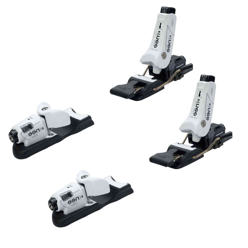 knee binding mist womens ski bindings 2017- Save 7.% Off - Women have greater chances of knee injuries than men do.  The Knee Mist steps us to help protect female skiers.  The Mist has three different areas of release, without compromising any downhill performance, forward, twisting and rearward twisting falls you are covered.  Knee Bindings even have the capability of releasing your boot sideways for the ultimate in protection.  Free-Flex Mounting allows your skis to flex evenly, and the Lever Edge Technology has a platform that is was wide as your boot sole, that will improve your leverage to turn skis and fantastic edge hold on the snow.  The Mist also has an optimal fore-aft stance just for the ladies, and a slightly more upright stance that will put less tension on your knees.  If you want the ultimate in protection against knee injuries the Knee Mist will be the only binding for you.  Pure Lateral Heel,  Flex-Float Mounting,  Lever Edge Technology,  Made in the USA,  Gender: Womens, Max Din Setting: 3-12, Binding Weight: 5 lbs., Race: No, Category: Downhill, Actual Din Range: 3-12, Ski Gear Intended Use: All Mountain, Skill Range: Advanced Intermediate - Expert, Model Year: 2017, Product ID: 293446, Model Number: MIST 90, GTIN: 0736211767318, Recommended Weight Range: 60+ lbs., Warranty: One Year