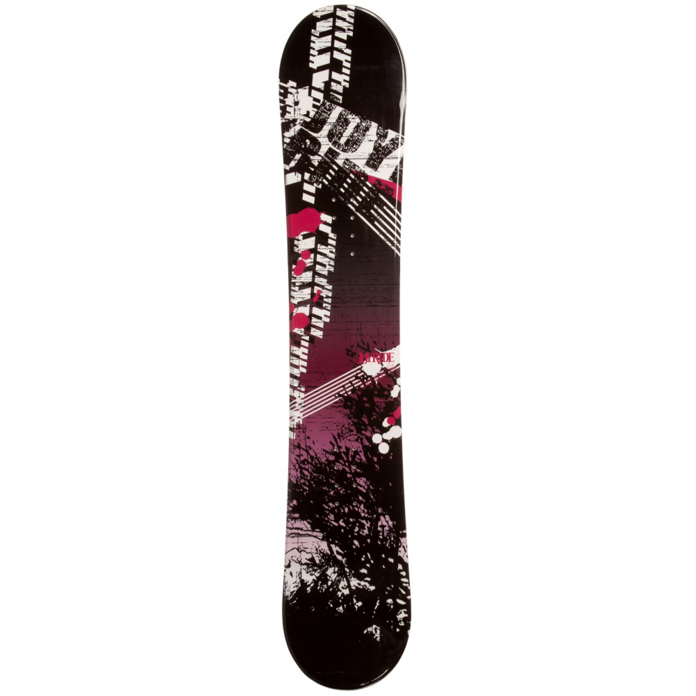 joyride bush pink rocker womens snowboard- Save 54% Off - If you're an entry-level snowboarder looking to get better and gain the skills to take on the harder trails, then the JoyRide Bush Pink Rocker Snowboard can help you get there.  It has a Rocker profile so you will a more playful and forgiving board that is easy to learn on.  It floats well in powder and you can always feel free to test out a few new tricks that you've been itching to try.  Don't waste another dollar renting a snowboard, get your own and conquer the mountain with the JoyRide Bush Pink Rocker Snowboard.  Base Graphics Are Assorted,  Model Number: 411 SB 12, Skill Level: Beginner, Gender: Womens, Product ID: 297038, Skill Range: Beginner - Advanced Intermediate, Warranty: One Year, Base Material: Extruded P-tex, Magnatraction: No, Hole Pattern: Standard 4 Hole, Construction Type: Cap Construction, Core Material: Wood, Board Width: Regular, Pipe Oriented: No, Flex: Soft, Shape: Directional, Rocker Profile: Camber, Snowboard Best Use: All-Mountain