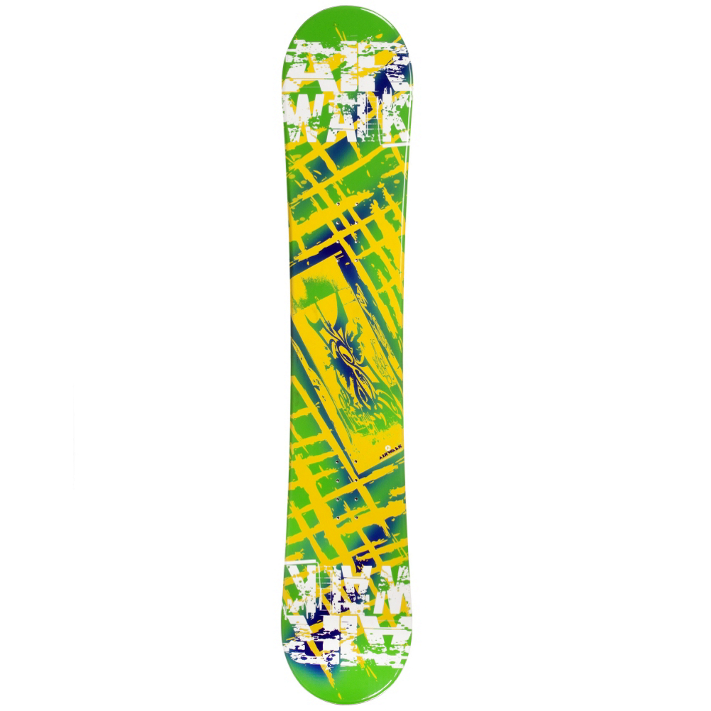 Airwalk Kona Yellow Snowboard