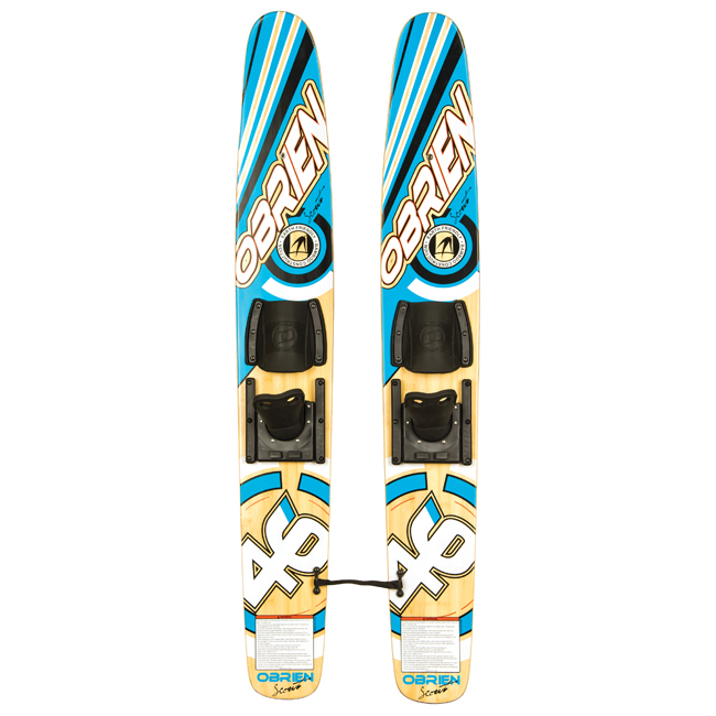 O'Brien Scout Eco Trainers Junior Combo Water Skis With Bindings 2017