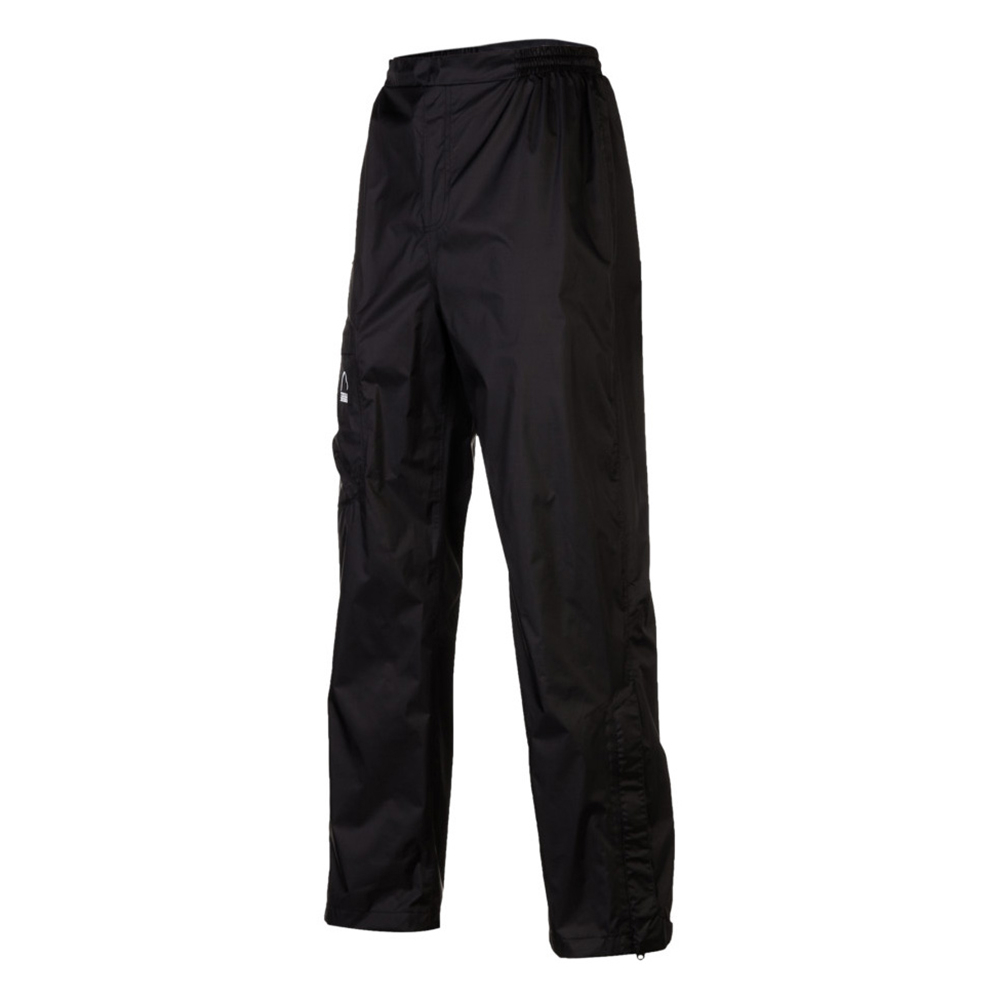 sierra designs hurricane mens pants- Save 30% Off - The Hurricane Pants by Sierra Designs are great for biking, backpacking and hiking during warmer weather.   Durable and lightweight, these pants are crafted from nylon ripstop fabric and have a DWR coating that allows them to be waterproof and breathable so when those afternoon rain storms roll in, you'll stay dry and comfortable.  An elastic waist allows you to customize your fit, while the ankle zippers let you change in and out of the pants without having to remove your boots.  A large cargo pocket provides room for ID or snacks and when the pants are not in use, they can fold up and be stored in this pocket. Whether you're venturing out on the trails or camping in the woods, the Hurricane Pants by Sierra Design are easily packable so they can always be within easy reach.  Nylon Ripstop,  Waterproof 5,000mm/Breathable 5,000g,  Fully Taped Seams,  Elastic Waistband with Drawstring,  Cargo Pocket,  Ankle Zippers,  GTIN: 0054003744164, Model Number: 224042 BK M, Product ID: 344291, Model Year: 2014, Casual Pant Fit: Regular, Material: Synthetic, Waist: Elastic, Warranty: Lifetime, Cargo Pockets: Yes, Articulated Knee: Yes, Material: Nylon Ripstop