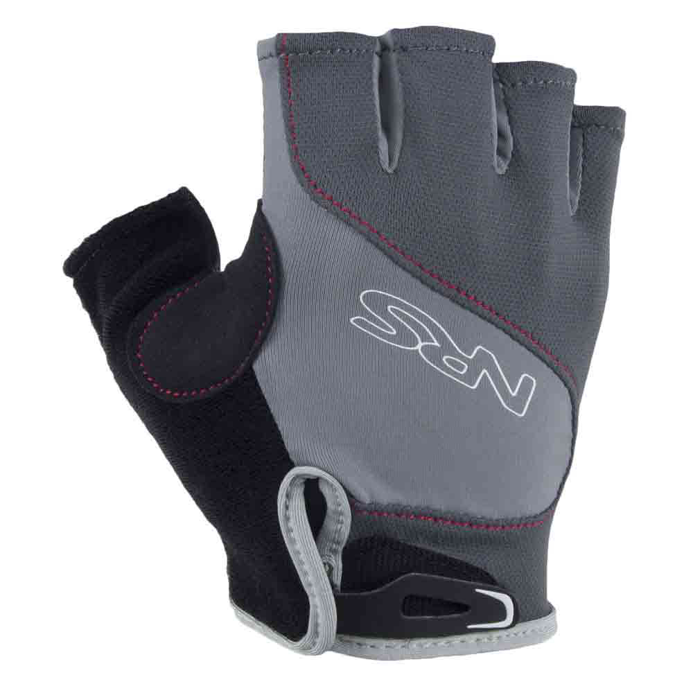 nrs axiom paddling gloves- Save 37% Off - The NRS Mens Axiom Paddling Gloves are truly the most comfortable glove you can paddle in.  The stretchy sun-protective back is grippy with a ventilated palm in an open-finger design - allowing you to be versatile when it comes to those hand chores.  The Silkweight H2Core fabric in the glove back stretches four ways and breathes readily for cooling as it dries quickly. The Three-quarter finger design leaves your fingers free to tie knots, operate your camera and check the wind direction.  Having vent holes in the Amara synthetic leather palm increases cooling for your comfort.  The synthetic leather material on the fingers extends out slightly to provide a grip tab that's helpful in tugging the glove off,  Sticky polyurethane pads on the palm give excellent grip for paddle control,  Synthetic leather panel over the thumb web prevents wear in this vulnerable area,  A soft strip of fleece on the back of the thumb is perfect for wiping the sweat from your brow without chafing,  GTIN: 0603403014287, Model Number: 25034.01.103, Product ID: 348322, Model Year: 2015
