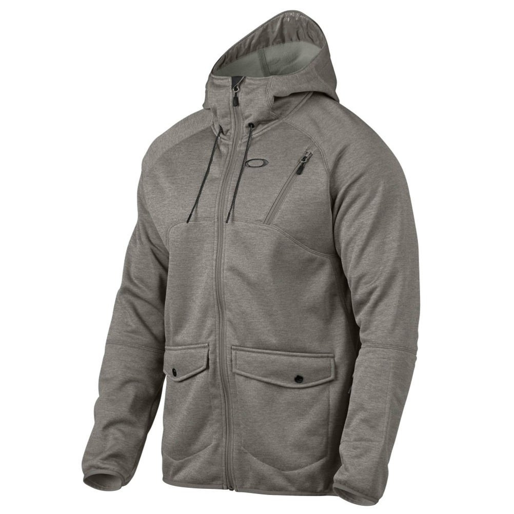 oakley fuel tank fleece mens jacket- Save 64% Off - The Oakley Fuel Tank Fleece Jacket was designed with warmer days in mind. This fleece with DWR coating is great for the warm weather riding. With the media pocket you can keep your phone or music player close and jam to your favorite tunes while tearing up the mountain. The DWR finish on this jacket will repel water if it starts to drizzle or lightly snow. The underarm pit vents allow hot air and moisture to escape instead of building up inside the jacket. The Fuel Tank Fleece can also double as an insulating layer when temperatures are really cold. With the 252 grams of fleece the Oakley Fuel Tank Fleece Jacket will keep you warm alone or paired with another jacket depending on the weather.  252g Fleece,  DWR Coating,  Drawstring Hood Adjustment,  Four-hole Eyelet Pit Vents,  External Sleeve Pass Pocket,  Secure Hand Pockets,  Inner Storm Flap,  Media Pocket,  Quick Drying: Yes, Moisture Wicking: Yes, Windproof: No, Anti Wrinkle: No, Insect Repellent: No, Product ID: 353980, Model Number: 461268-23Q S, GTIN: 0887288798894, Anti Odor: No, Antimicrobial: No, Sun Protection: No, Recommended Use: Snow, How Does This Fit?: True To Size, Warmth Factor: Slightly Warm, Water Resistant: Yes, Wind Protection: No, Waterproof Zippers: No, Breathability: Not Specified, Waterproof: Water Resistant (< 5,000mm), Insulation Type: Fleece, Length: Medium, Jacket Fit: Regular, Type: Fleece, Race: No, Battery Heated: No, Warranty: 30 Days, Breathability Rating: Not Specified, Waterproof Rating: Not Specified, Taped Seams: None, Insulation Weight: 252 Grams, Exterior Material: 100% Polyester with DWR Coating, Model Year: 2015