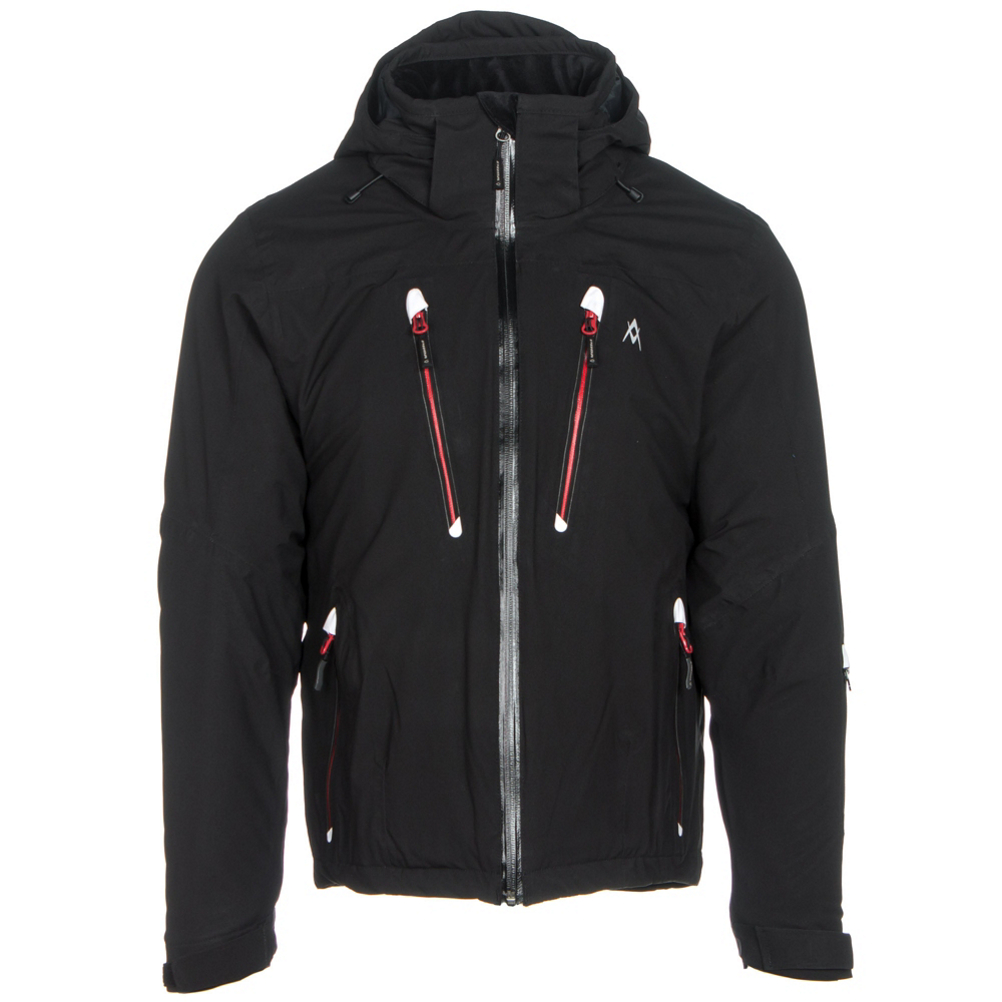 volkl perfect fitting mens insulated ski jacket- Save 60% Off - NOTE: Volkl Performance Wear comes in European Sizing. While we have done the conversion for you, please note that the tag in your jacket will reflect its European Size (ex. US L = EU XL). The Volkl Perfect Fitting jacket also tends to run shorter in the torso and the arms due to its tailored European cut. The Volkl Perfect Fitting Mens Insulated Jacket is quality designed with the functional attributes that shield the elements, ensures generous warmth and all day comfort within a fashionable exterior. Well-designed - with attention to detail, The Volkl Perfect Fitting Jacket boasts modern styling combined with its classic structure.  Providing an array of technical features; such as: pit zips, 4-way stretch fabric and adjustable cuffs and hems - you are mountain ready to enjoy an excellent ski experience. The use of SENSORTEX waterproof / breathable membrane and CPI Insulation provides a warm dry climate on the inside of the jacket while preventing the elements from dampening the experience from outside the jacket. The Volkl Perfect Fitting Ski Jacket strives to provide the perfect winter experience.  Waterproof / Breathable,  Articulated Sleeves for Movement,  4-Way Stretch,  Detachable Hood,  Pit Zips,  Wrist Gaiters,  Electronics Pocket,  Exterior Material: SENSORTEX Waterproof / Breathable, Insulation Weight: CPI Insulation 100g, Taped Seams: Fully Taped, Waterproof Rating: 10,000mm, Breathability Rating: 10,000g, Hood Type: Removable, Pit Zip Venting: Yes, Powder Skirt: Yes, Warranty: One Year, Battery Heated: No, Race: No, Type: Insulated, Jacket Fit: Regular, Length: Hip, Insulation Type: Synthetic, Waterproof: Mild Waterproofing (5,001 - 10,000mm), Breathability: Mild Breathability (5,001 - 10,000g), Cuff Type: Hook and Loop, Wrist Gaiter: Yes, Waterproof Zippers: Yes, Cinch Cord Bottom: Yes, Warmth Factor: Warm, How Does This Fit?: Slightly Small, Model Year: 2016, Product ID: 356553, Model Number: 400205.940.2XL, GTIN: 0885367024001