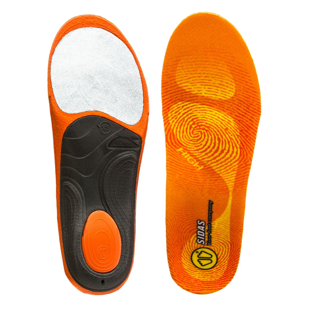 Sidas 3 Feet High Arch Insoles