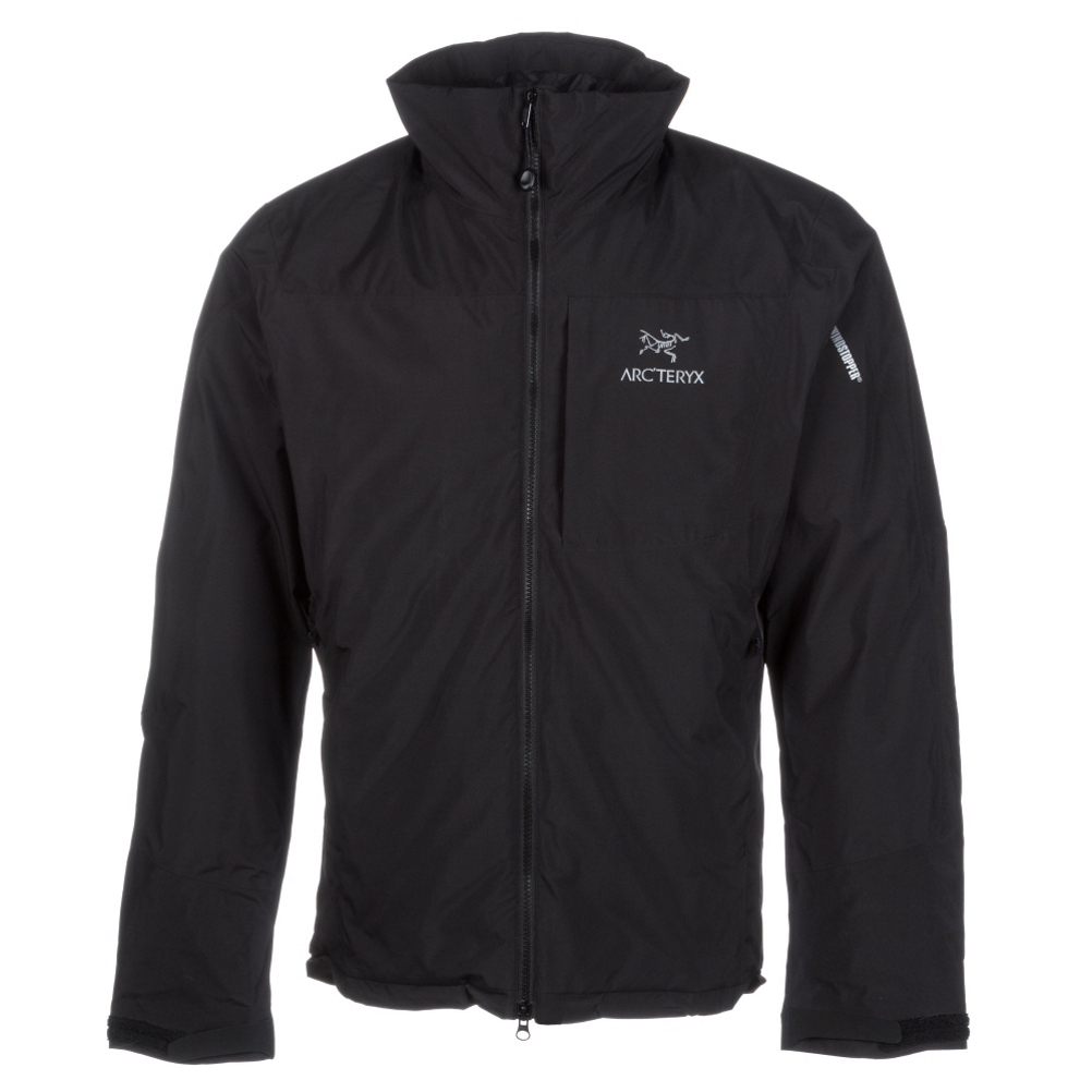 arc'teryx kappa mens jacket- Save 45% Off - Stay warm and cozy on and off the slopes with the Arc'teryx Kappa Jacket.  This jacket is enhanced with Windstopper fabric that is windproof and water resistant so it fends off light rain and snow keeping you dry and comfortable as you head down the trail or when you're running errands in damp weather in the city.  Coreloft insulation keeps you warm and cozy without being bulky so you won't feel restricted when you're layering under or over this jacket.  When those harsh winds start to blow you can tighten up the drawcord hem to seal out the cold while the high insulated collar will keep your neck warm and protected.  You'll have plenty of room for storage for your phone or a beanie with zippered hand pockets, a zippered chest pocket and internal mesh pockets.  Don't let the cold weather keep you inside - enjoy your activities while staying toasty and comfy wearing the Kappa Jacket from Arc'teryx.  Windstopper 2L Nylon Fabric with DWR (Durable Water Repellant),  Coreloft Insulation,  High Insulated Collar,  Zippered Chest Pockets, Zippered Hand Pockets, 2 Internal Mesh Pockets,  Hem Drawcord,  Taped Seams: None, Waterproof Rating: N/A, Breathability Rating: N/A, Warranty: Lifetime, Battery Heated: No, Race: No, Type: Insulator, Jacket Fit: Regular, Length: Short, Insulation Type: Synthetic, Waterproof: Water Resistant (< 5,000mm), Breathability: Not Specified, Waterproof Zippers: No, Wind Protection: Yes, Warmth Factor: Warm, How Does This Fit?: True To Size, Model Year: 2016, Product ID: 361400, Model Number: 14657 186365, GTIN: 0806955734447, Insulation Weight: 140 Grams, Exterior Material: Nylon Windstopper with DWR Finish