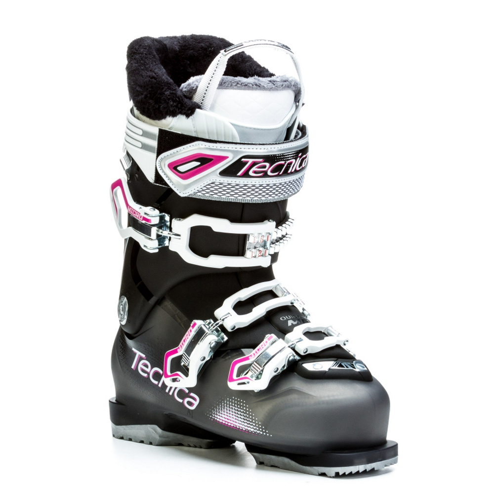 tecnica ten.2 85 w c.a. womens ski boots- Save 52% Off - The Ten.2 85 W C.A. is a great boot for the intermediate to advanced skier that has an average foot width, and average leg shape.  Tecnica's Quick Instep Construction uses a softer flexing plastic over the instep portion of your foot to make sliding in and out of the boot a dream.  The Cuff Adapt adjustment located near the back of the upper cuff is an easy way for you to get the fit dialed in just perfectly along the shaft of your leg.  The Ten.2 85 has a 102mm last that fits average width feet perfectly.  The i-Rebound Construction has four metal-to-metal connection points to give you rearward support, forward flex resistance, and rebound for easy power transfer, and control over your skis.  An Ultrafit Women's Specific Liner has a women's specific last, narrower heel cradle, and a scalloped collar to give you a fit that is just for the ladies.  The Tecnica Ten.2 W 85 will be a great boot for you, if you have a medium foot and leg shape, tall instep and a medium flex.  i-Rebound,  Quick Instep,  Cuff Adapt,  Ultrafit W Liner,  Best Fits an Average Width Foot, and Average Leg Shape,  Ski Boot Width: Medium (100-103mm), Forefoot Width: 102mm at Reference Size 25.5, Category: Downhill, Ski Gear Intended Use: All Mountain, Skill Range: Intermediate - Advanced, Model Year: 2016, Product ID: 363040, Model Number: 20140500 235, GTIN: 0885315882714, Calf Volume: Medium, Instep Height: High, Buckle Count: 3, Flex Adjustment: No, Ski/Walk: No, Used: No, Flex: Medium, Warranty: One Year, Cuff Alignment: Single, Actual Flex: 85