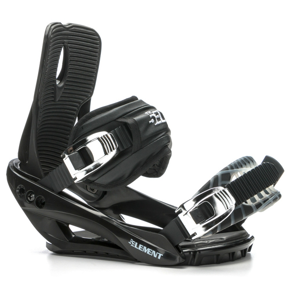 5th element stealth 3 snowboard bindings- Save 16% Off - The Stealth 3 from 5th Element is a great economical binding for the newer or less experienced snowboarder who is looking for performance and value.  The convertible toe straps will keep your foot locked down, give you great control over your board, and will conform to any boot toe shape.  The Stealth 3 has a padded base plate to reduce vibrations as you learn to progress and pick up speed.  The forward lean adjustment will help you get your stance dialed in just right.  If you want a binding that will have a great value the 5th Element Stealth 3 is for you.  Small 5-7,  Medium/ Large 7-10,  Large/ X-Large 10-13,  Skill Level: Beginner, Gender: Mens, Product ID: 368998, Model Year: 2017, Skill Range: Beginner - Advanced Intermediate, Snowboard Binding Padding: Basic, Binding Compatibility: Standard 4 Hole, Chassis Material: Plastic, Canted Footbed: No, Quick Entry: No, Warranty: One Year, Toe Strap Style: Convertible, Buckles: Plastic, HighBack: Plastic, Flex: Very Soft, Strap Material: Soft Flexing Durable Covered Foam Strap, Snowboard Best Use: All-Mountain Freestyle