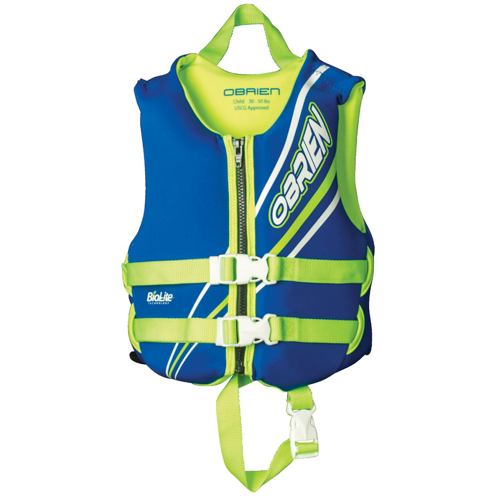 O'Brien Blue Toddler Life Vest 2019