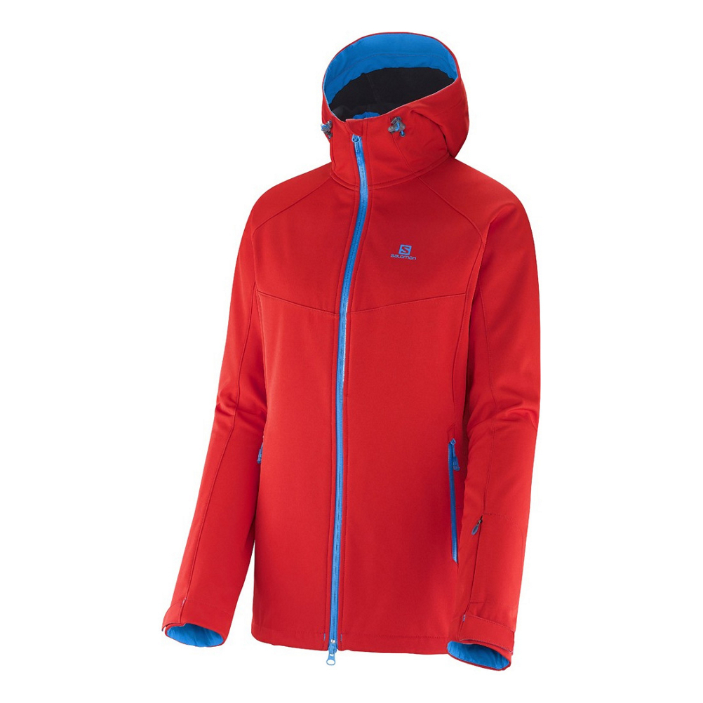 salomon snowtrip premium womens insulated ski jacket- Save 61% Off - The Salomon Snowtrip Premium Womens Insulated Ski Jacket has an outer stretch softshell with a warm and soft inner detached layer, giving you the 3 in 1 jacket, that  delivers comfort, performance and a clean silhouette in print pattern or solid. The Smartskin inner jacket with light insulation and stretch panels delivers the warmth you need with unlimited mobility.  The Salomon Snowtrip Jacket is a true and tested 3 in1 jacket that has two water resistant and windproof layers. The Snowtrip Ski Jacket has a figure flattering exclusive design with precision detailing, as it allows you to acclimate to changing weather conditions.  Advancedskin Dry,  Fixed hood,  Powderskirt,  3in1 Smart Skin Inner Jacket,  Active fit,  Hood with 3D adjustment,  Bottom hem fastening,  Goggle mesh pocket/goggle wipe,  2 hand zipped pockets and inner stash pocket,  Key hook,  Left arm lift pass pocket,  Product ID: 376194, Model Number: L36365200 XS, GTIN: 0887850231040, Model Year: 2015, How Does This Fit?: True To Size, Warmth Factor: Warmer, Cinch Cord Bottom: No, Waterproof Zippers: No, Wrist Gaiter: No, Cuff Type: Hook and Loop, Breathability: Mild Breathability (5,001 - 10,000g), Waterproof: Mild Waterproofing (5,001 - 10,000mm), Insulation Type: Synthetic, Length: Short, Jacket Fit: Regular, Type: 3-in-1 Jacket, Race: No, Battery Heated: No, Warranty: Three Year, Powder Skirt: Yes, Pit Zip Venting: No, Hood Type: Fixed, Breathability Rating: 10,000g, Waterproof Rating: 10,000mm, Taped Seams: Critically Taped, Insulation Weight: 100 Grams, Exterior Material: Advancedskin Dry