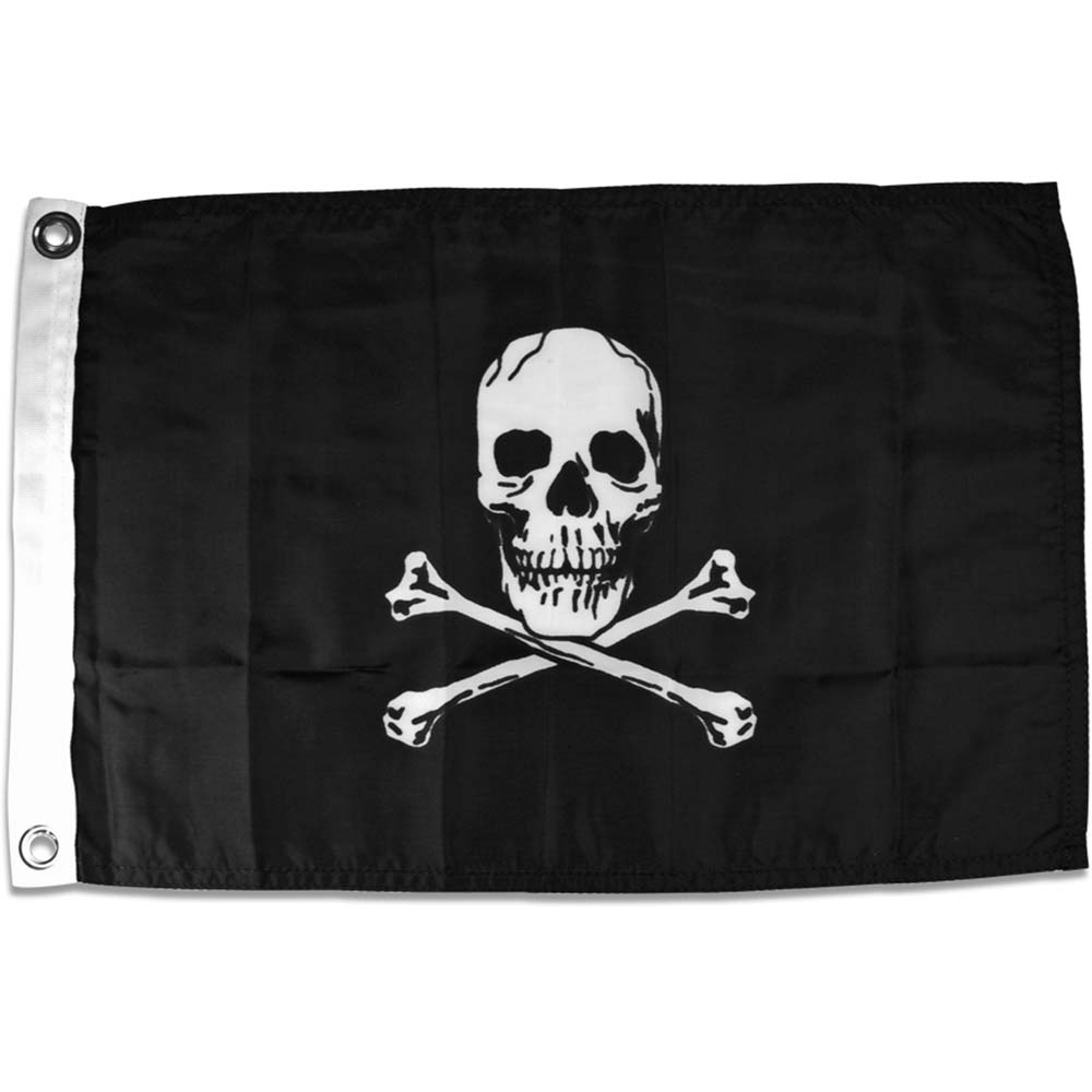 YakAttack Jolly Roger Flag 2017