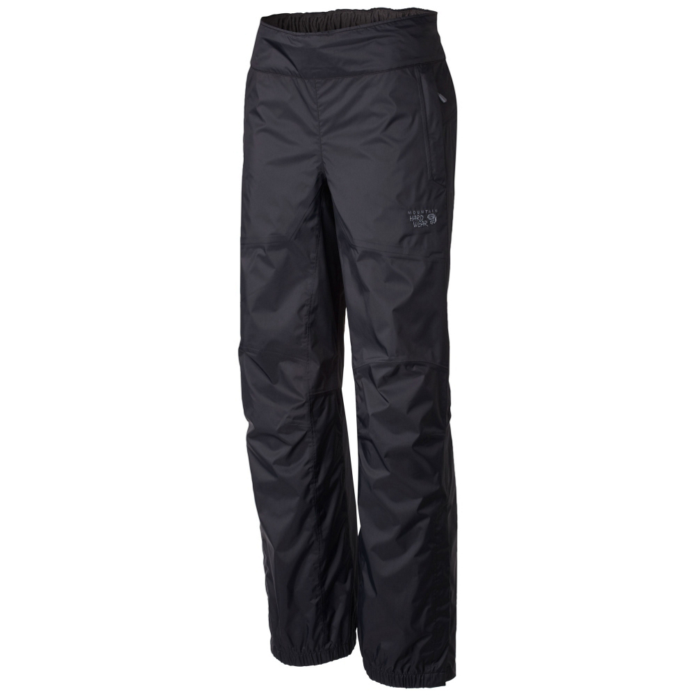 mountain hardwear plasmic mens pants- Save 50% Off - Have you ever wondered what its like to stay dry in the middle of a storm? Will the Mountain Hardware Plasmic Pant is completely waterproof thanks to Dry.Q EVAP.  Dry.Q Evap membrane keeps outside moisture from dampening your base layers and accelerates evaporation for more breathability and comfort.  Partial elastic waist for improved fit and comfort, while articulated knees for mobility.  Just to make life easier the pant's zippered ankle openings allow you to slip these pants on over your shoes.  The Plasmic Pant paired with the Plasmic Jacket creates the most waterproof combination the great outdoors have ever seen.  Dry.Q EVAP,  Partial elastic hem with Velcro adjustment,  Weight 7oz,  GTIN: 0786559867676, Model Number: 1498151010 M, Product ID: 379386, Model Year: 2016, Moisture Wicking: Yes, Sun Protection: , Recommended Use: Travel, Casual Pant Fit: Regular, Water Resistant: Yes, Material: Synthetic, Waist: Elastic, Warranty: Lifetime, Cargo Pockets: No, Articulated Knee: Yes, Material: Dry.Q EVAP