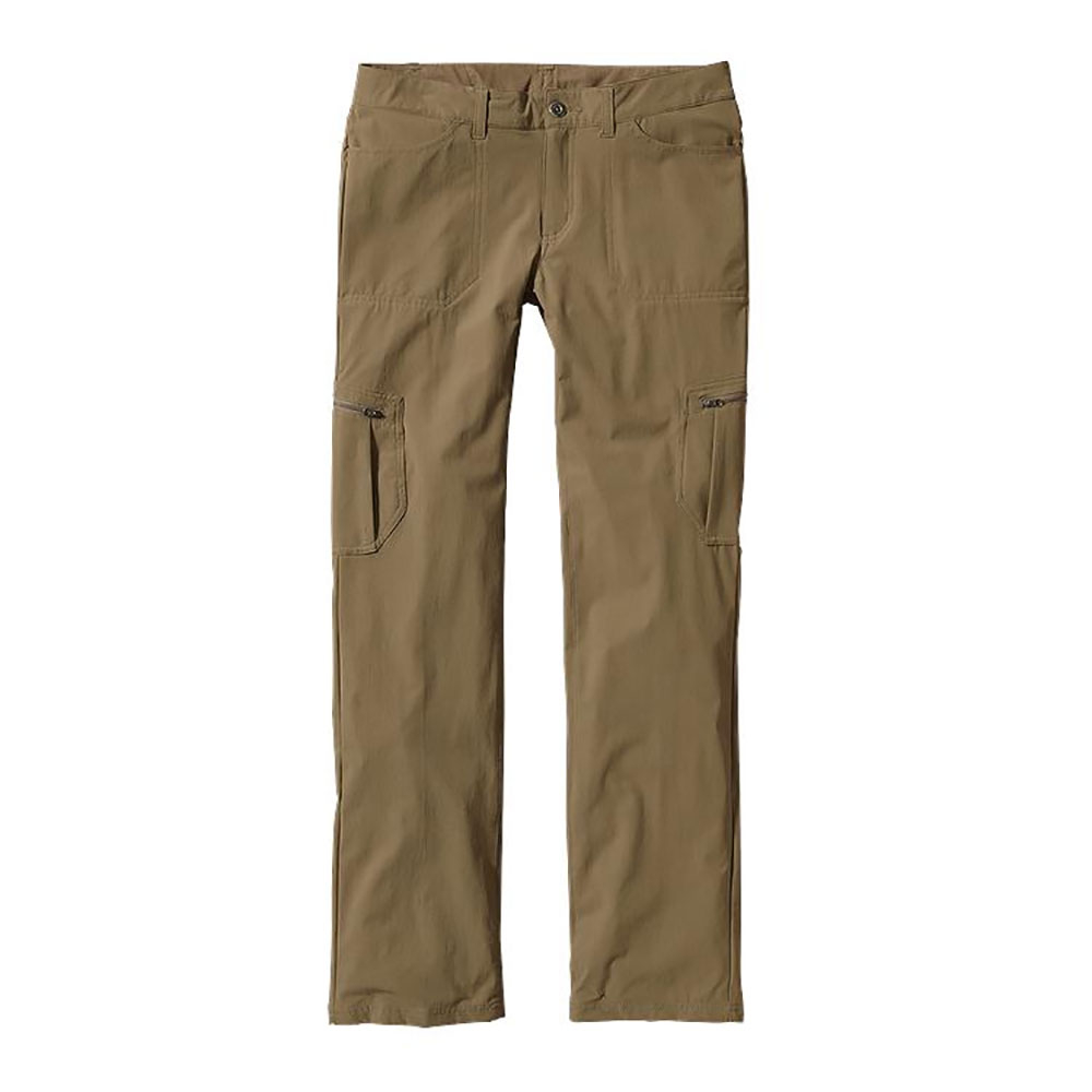 patagonia tribune womens pants- Save 49% Off - Hike, trek and explore, these are the pants that do it all. The Patagonia Tribune Womens Pants  are made of a high-performance, stretch-woven nylon/spandex blend with a DWR (durable water repellent) finish, they are stretchy, durable and feel like a soft knit fabric.  Tough, durable and burly, the Tribune Pants are made for your hard core adventures, with the 4-way stretch fabric that is treated with a DWR (durable water repellent) finish, you have unrestricted mobility and can withstand the elements. The Patagonia Tribune Pants have a flattering fit and silky finish with the feel of a knit legging, you look stylish and stay comfortable as you take to the trails.  Moisture-wicking, mesh-lined waistband,  Soft 4-way-stretch nylon/spandex blend with a DWR (durable water repellent) finish,  Hidden elasticized drawcord in the waistband for adjustability,  Drop-in front pockets with double-needle stitch detail; drop-in patch pockets in back,  Two side cargo pockets with secure zipper closure,  32 Inch inseam,  Material: 88% nylon/12% spandex with 4-way stretch, Articulated Knee: No, Cargo Pockets: Yes, Low Rise: No, Warranty: Lifetime, Waist: Beltloops, Material: Synthetic, Water Resistant: Yes, Casual Pant Fit: Regular, Recommended Use: Hiking/Camping, Sun Protection: , Moisture Wicking: Yes, Model Year: 2016, Product ID: 380910, Model Number: 55436 ASHT 4, GTIN: 0887187988266