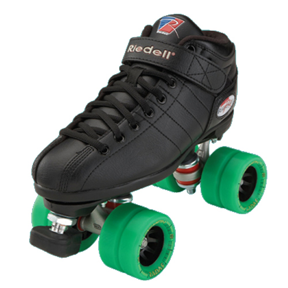 Riedell R3 Demon Boys Speed Roller Skates 2017