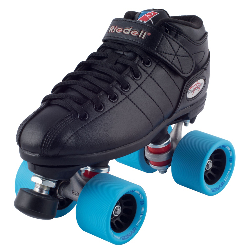 Riedell R3 Demon Speed Roller Skates 2016