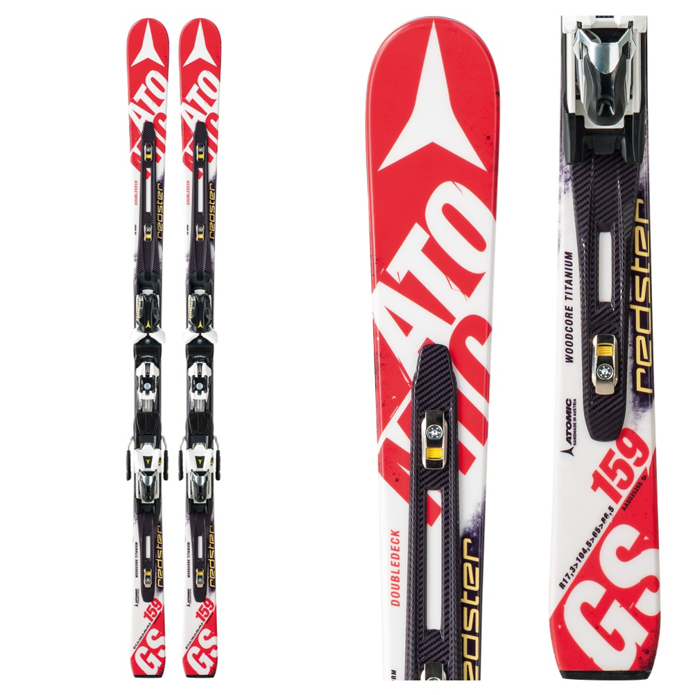 Atomic Redster FIS D2 GS Jr. Junior Race Skis with X 12 Bindings