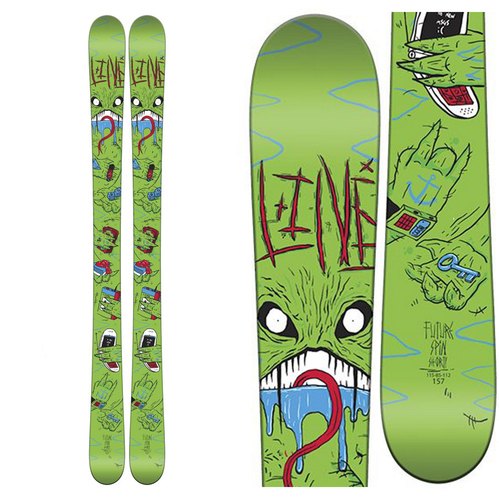 Line Future Spin Shorty Kids Skis