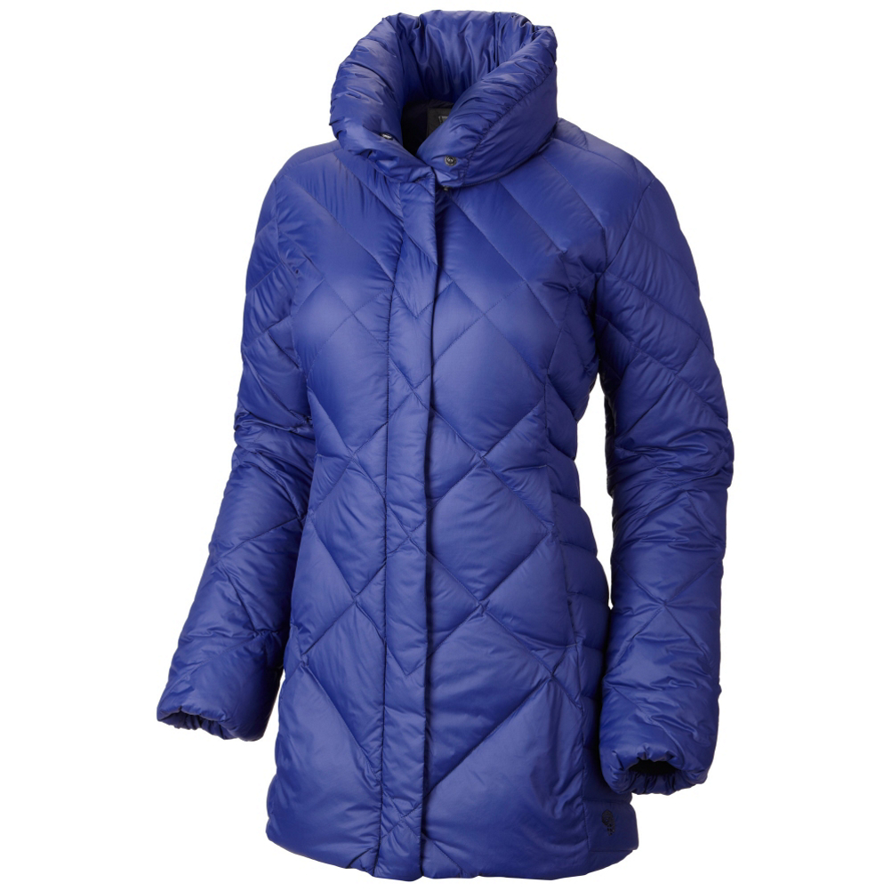 mountain hardwear citilcious down parka womens jacket- Save 70% Off - The Mountain Hardwear Citilicious Down Parka Jacket is going to provide unmatched warmth to any woman looking to stay toasty during the winter months. Longer parka-length provides extra warmth and crucial coverage, while a novelty-quilting detail contours the body for a perfect fit. The Citilicious is composed of Q.Shield Down. Q.Shield Down is infused with a permanent water repellency that helps maintain insulating performance even when exposed to mother natures wrath. Extra down in the neck for a cozy, luxurious look and feel.  The Citilicious from Mountain Hardwear is a modern take on the classic parka jacket.  Q.Shield DOWN resists heat-robbing moisture and retains maximum loft even when wet,  Longer parka-length provides extra warmth and crucial coverage,  Novelty-quilting detail contours the body for a feminine silhouette,  Extra down in the neck for a cozy, luxurious look and feel, plus a snap closure,  Slightly belled sleeves with internal elastic keeps cuffs fitting snugly with or without gloves,  Hidden snap placket with full zip for extra protection from inclement weather,  Elastic bottom hem for snug fit that seals in warmth, blocks out wind,  Exterior Material: 30x40 Nylon Twill DNP, Insulation Weight: 650 fill, Warranty: One Year, Type: Insulated, Jacket Fit: Regular, Length: Thigh, Insulation Type: Down, Waterproof: None, Breathability: Not Specified, Wind Protection: No, Warmth Factor: Warmer, How Does This Fit?: True To Size, Recommended Use: Casual, Sun Protection: No, Antimicrobial: No, Anti Odor: No, Insect Repellent: No, Quick Drying: Yes, Moisture Wicking: Yes, Windproof: No, Anti Wrinkle: No, Model Year: 2015, Product ID: 387191, Model Number: 1550811432 XS, GTIN: 0887487465986