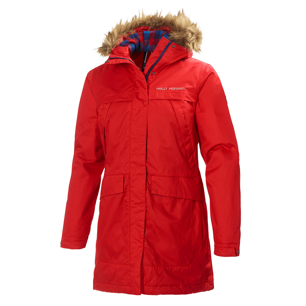 Helly Hansen Coastline Parka w/Faux Fur Womens Jacket 388054999
