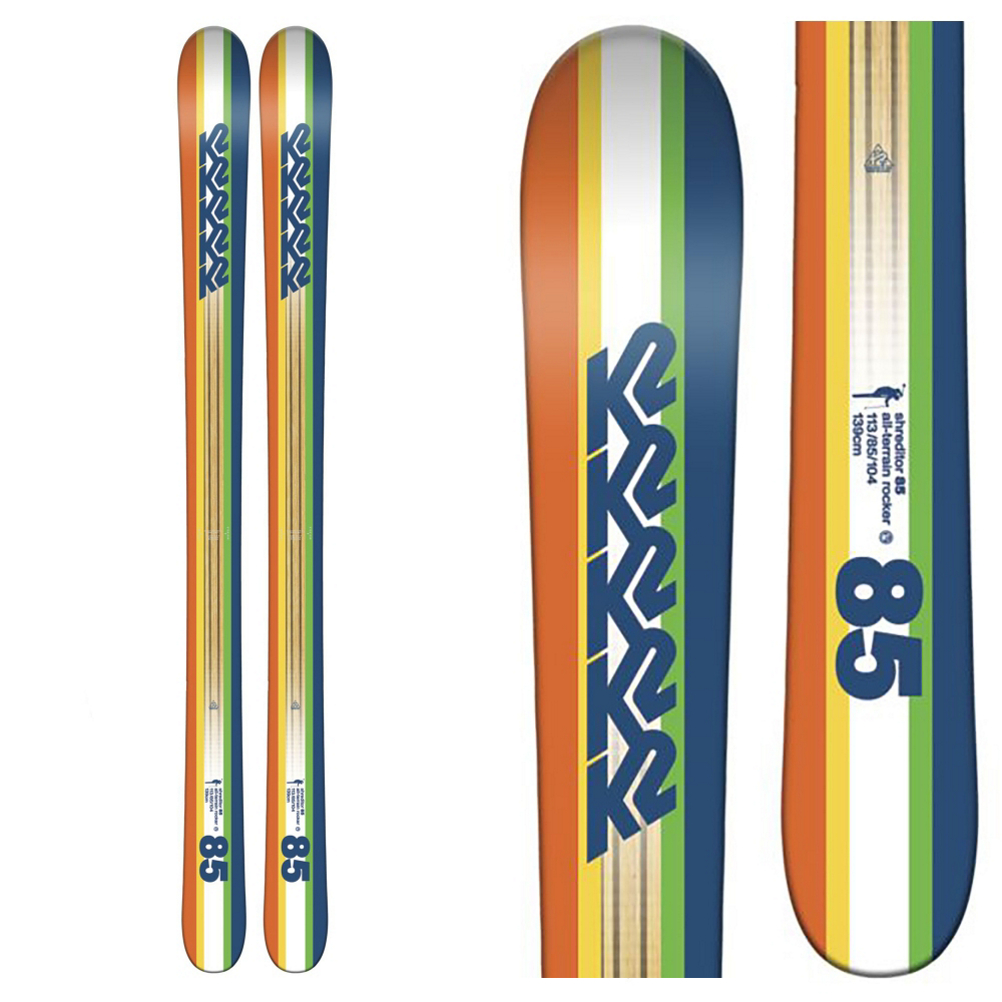 K2 Shreditor 85 Jr. Kids Skis