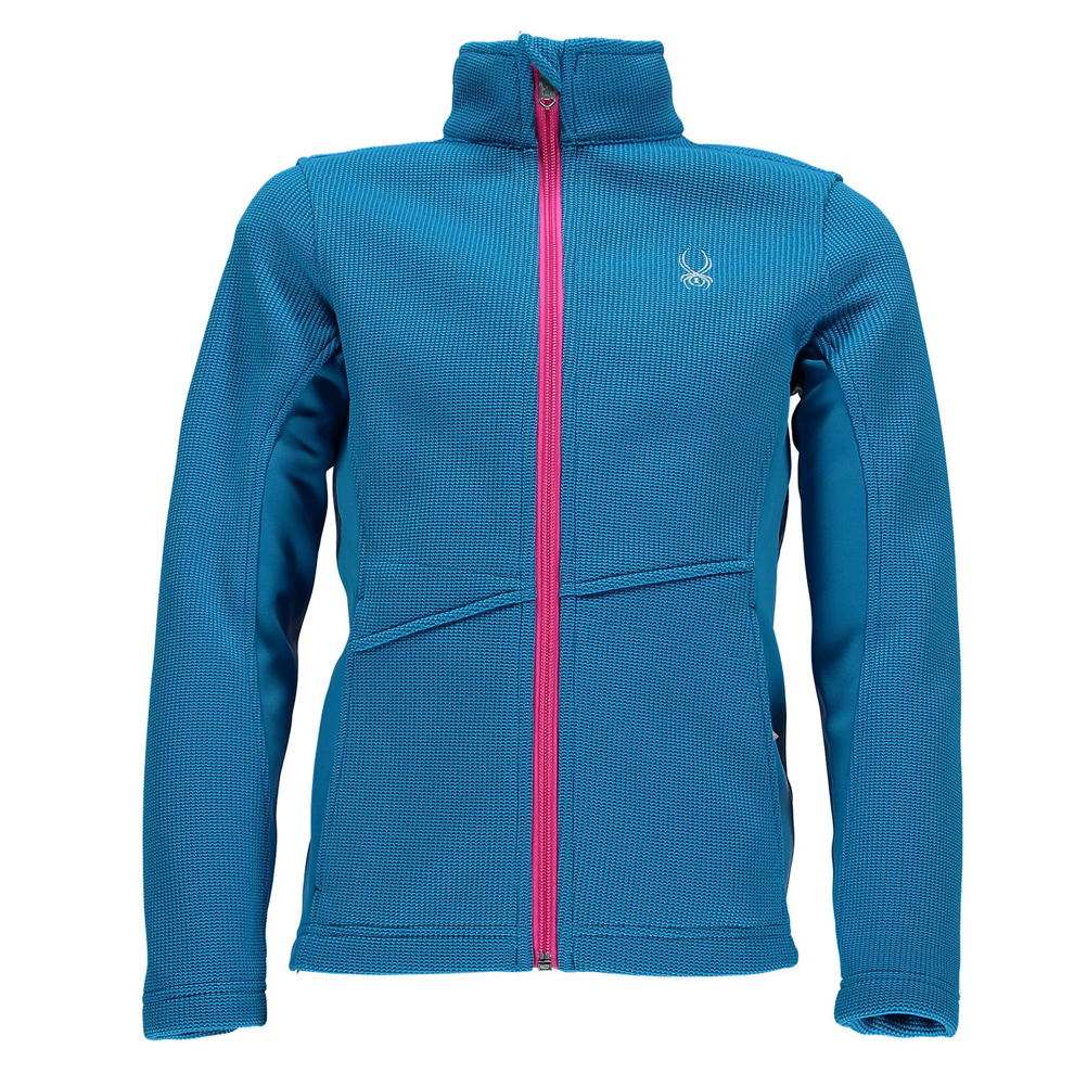 Spyder Core Endure Full Zip Girls Sweater
