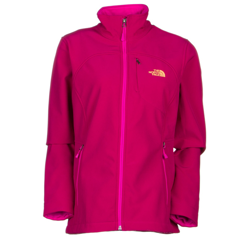 the north face apex bionic womens soft shell jacket (previous season)- Save 39% Off - The North Face Apex Bionic Jacket is ideal for those cold, windy days when you want to be warm and protected. Constructed with TNF Apex ClimateBlock, you'll have a jacket that is windproof, water resistant and breathable. The soft fleece lining will keep you cozy and warm while the stretch fabric allows full range of motion so you won't be restricted in your movements. For added protection against the elements, the wrist gaiters will keep your sleeves in place while the cinch cord hem lets you get a snug fit so the wind won't blow in your jacket. The chest pockets provide storage for a few necessities and there's even a media pocket so you can listen to your favorite tunes as you're exercising. This softshell has a classic fit allowing room for layering when more warmth is desired. Whether you're skiing, hiking or going for your daily run, the Apex Bionic Jacket from The North Face will provide you with comfort and protection while looking stylish.  Relaxed Fit,  100% Windproof Fabric,  Reverse-coil Center Front Zip,  Secure-zip Napoleon Chest and Hand Pocket,  Internal Stretch Comfort Cuffs,  Hem Cinch-cord,  Media Compatible,  Exterior Material: TNF Apex ClimateBlock, Polyester, Elastane, Insulation Weight: N/A, Taped Seams: None, Waterproof Rating: DWR Finish, Breathability Rating: N/A, Warranty: Lifetime, Battery Heated: No, Race: No, Type: Softshell, Jacket Fit: Regular, Length: Hip, Insulation Type: None (Shell), Waterproof: Water Resistant (< 5,000mm), Breathability: Mild Breathability (5,001 - 10,000g), Waterproof Zippers: No, Wind Protection: Yes, Warmth Factor: Slightly Warm, How Does This Fit?: True To Size, Model Year: 2016, Product ID: 394910, Shipping Restriction: This item is not available for shipment outside of the United States., Model Number: NF00C771BDV-S, GTIN: 0648335174531