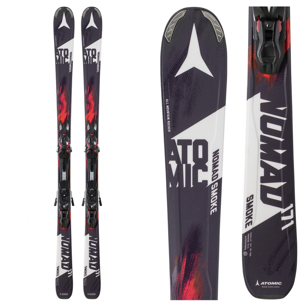 Atomic Nomad Smoke Skis with XTO 10 Bindings