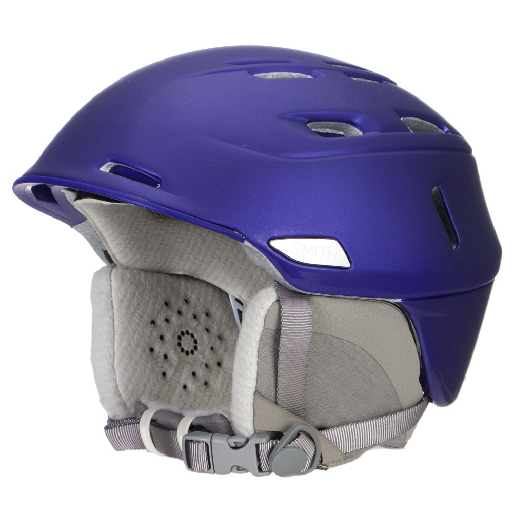 smith compass womens helmet- Save 30% Off - Smooth, flowing lines and elegant finishing details complement the Smith Compass Women's Helmet. Built with ultralight in-mold construction, this helmet is comfortable to wear and keeps you protected if you take a spill on the mountain. Adjustable Smith x Boa fit system allows for perfect helmet adjustment with just a simple twist of the Boa dial system. Low-Profile Regulator Adjustable Climate Control gives you the control to modify the amount of airflow and heat exhaust with your glove hand. AirEvac 2 Ventilation System helps drive warm air away from the goggles, through internal channels in the liner and out of the helmet. The X-Static Performance Lining and Snapfit SL2 Ear Pads helps keep your ears warm on cold days and can be integrated with the OutdoorTech Wired Chips Audio System. With 20 vents the Smith Compass Women's Helmet is the ideal helmet for women looking nothing but the best in performance.  Ultra-Light In-Mold Construction,  Low-Profile Regulator Adjustable Climate Control with 20 Vents,  Adjustable Smith X Boa Fit System,  Women's X-Static Performance Lining,  Snapfit SL2 Ear Pads,  AirEvac 2 Ventilation,  OutdoorTech Audio System Compatible,  Certifications: ASTM F 2040, CE EN 1077:2007 Class B, Warranty: Lifetime, Race: No, Category: Half Shell, Audio: Audio Compatible, Brim/Visor: Yes, Ventilation: Adjustable, Adjustability: Full, Year Round Capable: No, Shell Construction: In-Mold, Model Year: 2016, Product ID: 399330, Model Number: H16-CPUVSM, GTIN: 0715757490058