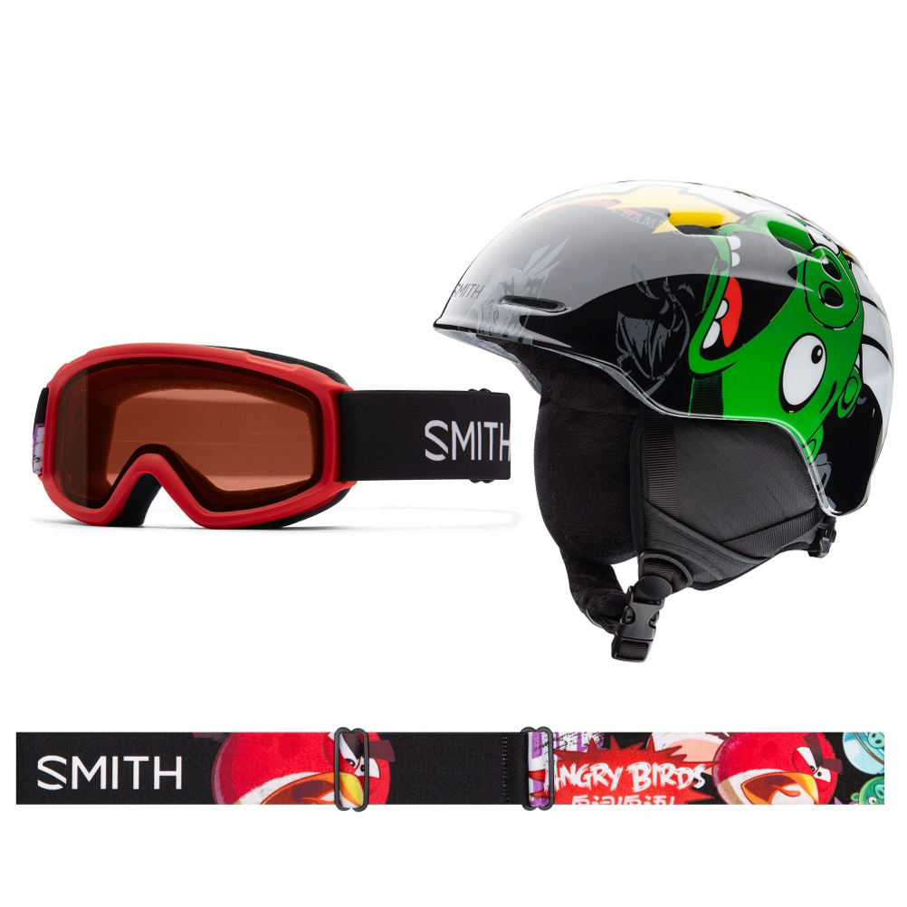 Smith Zoom and Sidekick Combo Kids Helmet