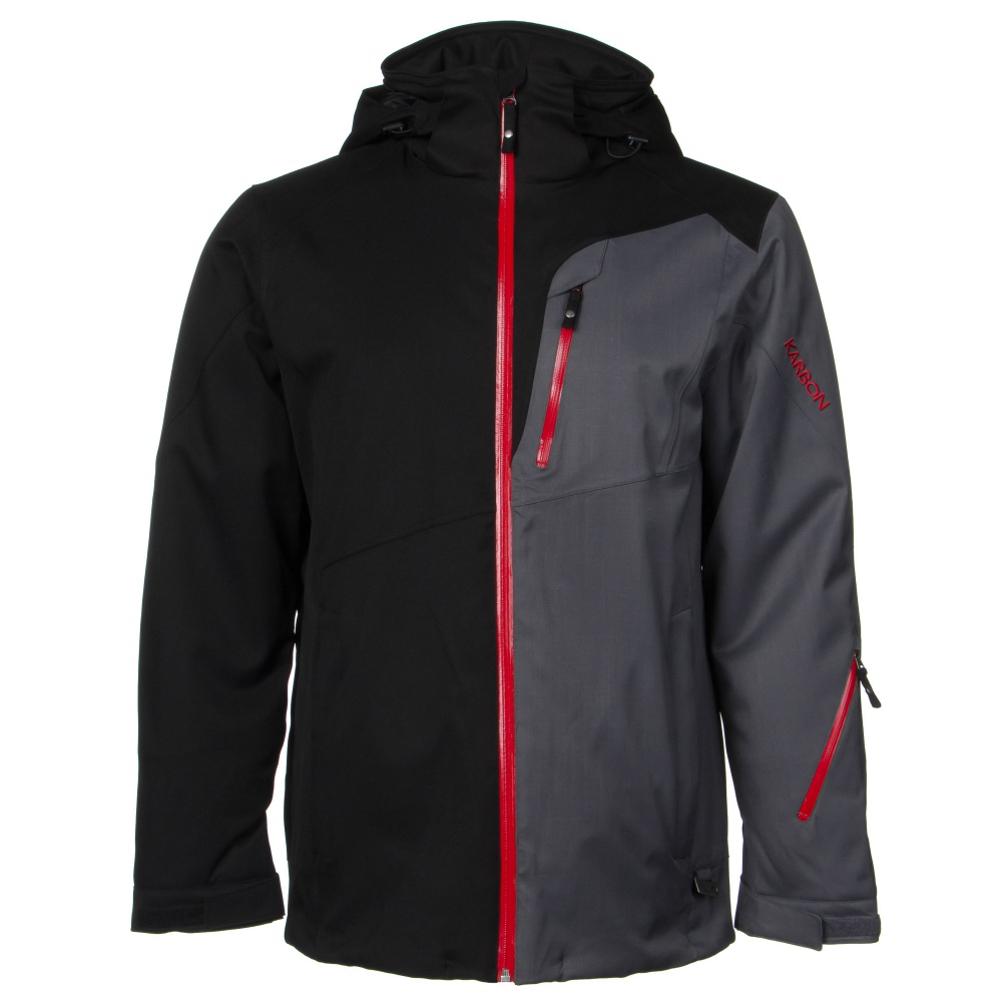 Karbon Shale Mens Insulated Ski Jacket 403006999