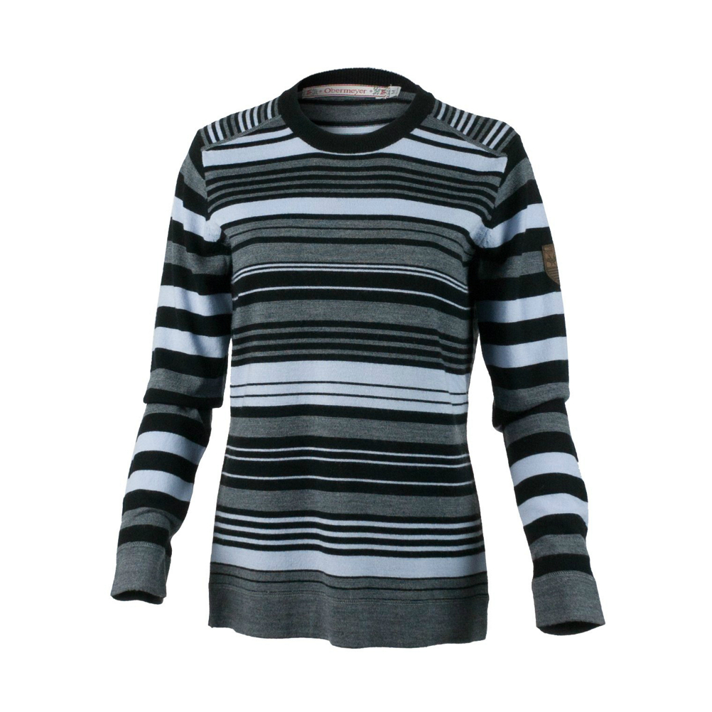 Obermeyer Fiona Stripe Knit Crew Womens Sweater